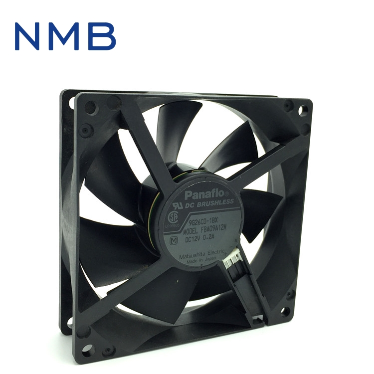 NMB New and Original FBA09A12M 9025 9cm 12V 0.2A chassis silent cooling fan 90*90*25mm nmb new and original fba09a12m 9025 9cm 12v 0 2a chassis silent cooling fan 90 90 25mm