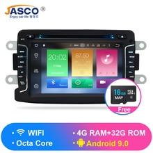 купить 4G RAM Android 9.0 Car DVD Stereo For Duster  Dacia Sandero Logan Dokker Captur Lada Xray GPS Navigation Video Audio онлайн