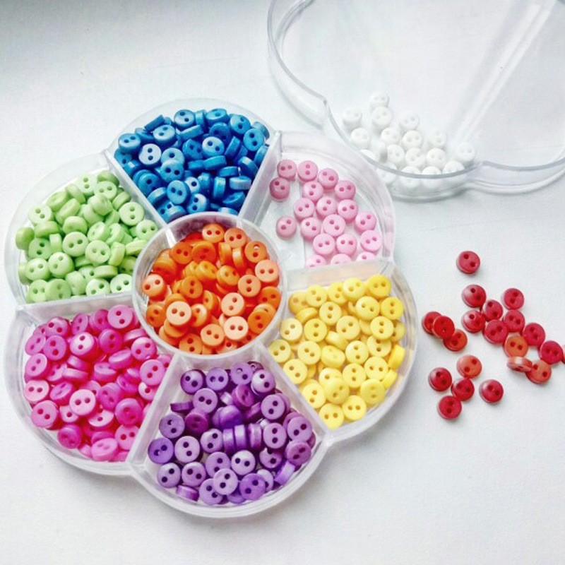 600pcs 2 holes resin mixed sewing buttons for kids buttons for Craft buttons for sale