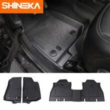 Shineka оригинальные резиновые коврики для jeep wrangler jl