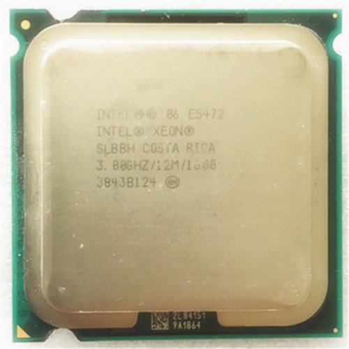 Intel e5472 CPU processor /3.0GHz /12MB L2 Cache/ Quad- Core/ Works on LGA775 motherboard ...