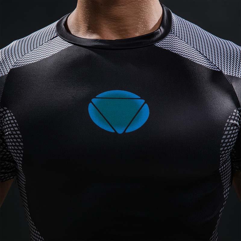 3D trükitud T-särgid Mehed Iron Man Hottoys T-särk Kapten Ameerika - Meeste riided - Foto 5