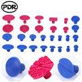 Инструменты для удаления вмятин PDR 18 шт. синие вкладки 10 шт. красные вкладки безболезненные Инструменты для ремонта вмятин