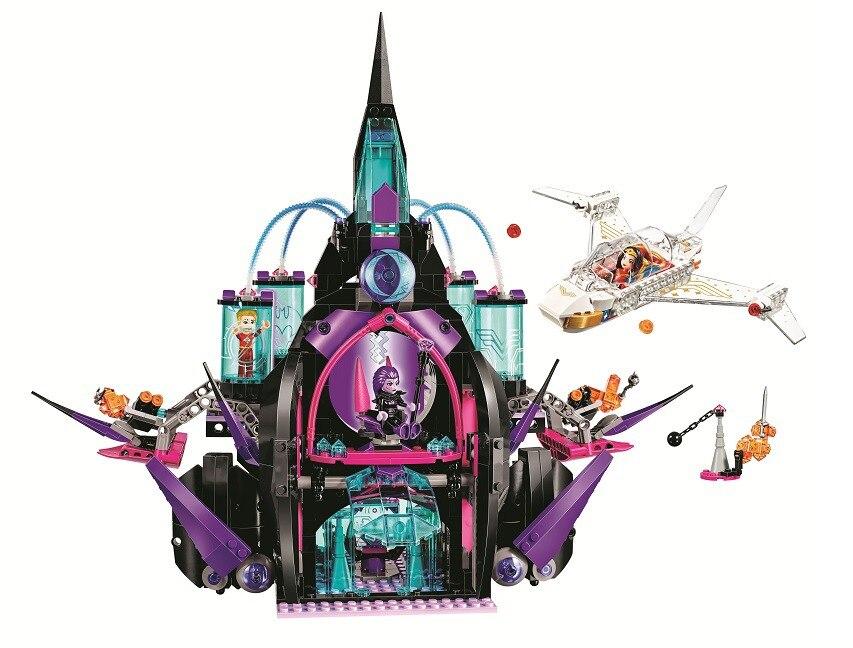 BELA DC SUPER héros filles éclipso palais sombre blocs de construction ensembles briques classique fille enfants modèle jouets Marvel Compatible Legoings