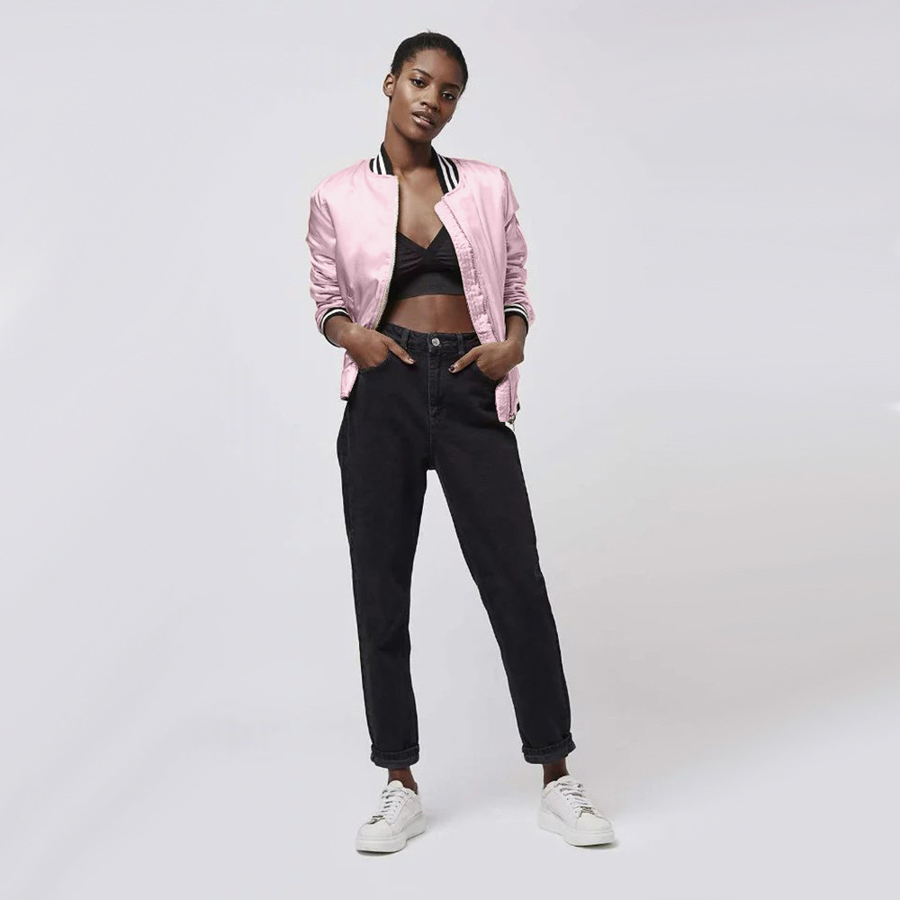 Online Get Cheap Pink Fitted Jacket -Aliexpress.com   Alibaba Group