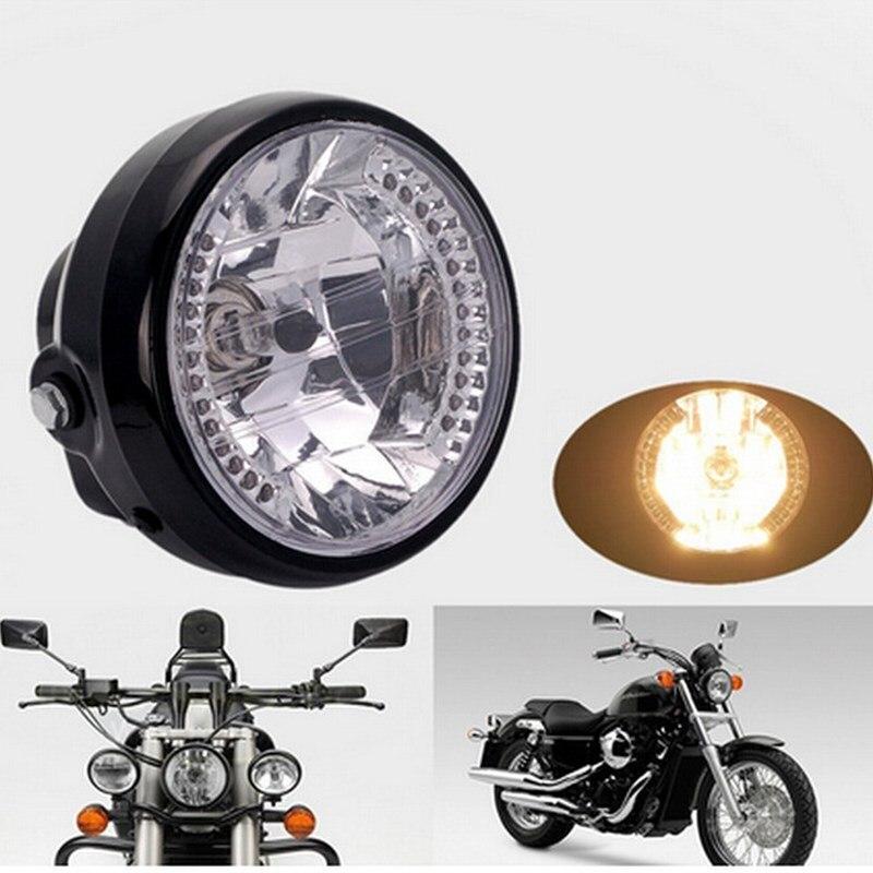 Apoyo 12 V linterna de la motocicleta 7 pulgadas ATV EE distancia de luz de lámp