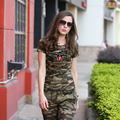 2016 Summer Military Camouflage Cotton T Shirts Fashion Casual Short Sleeve T Shirt Women Summer Printing Camo Tops Tees GS8582C