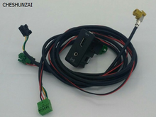 Cheshunzai для Гольф 7 MK7 CarPlay USB AUX CarPlay MDI USB ami установить розетка проводов 5g0 035 222 E 5g0035222e