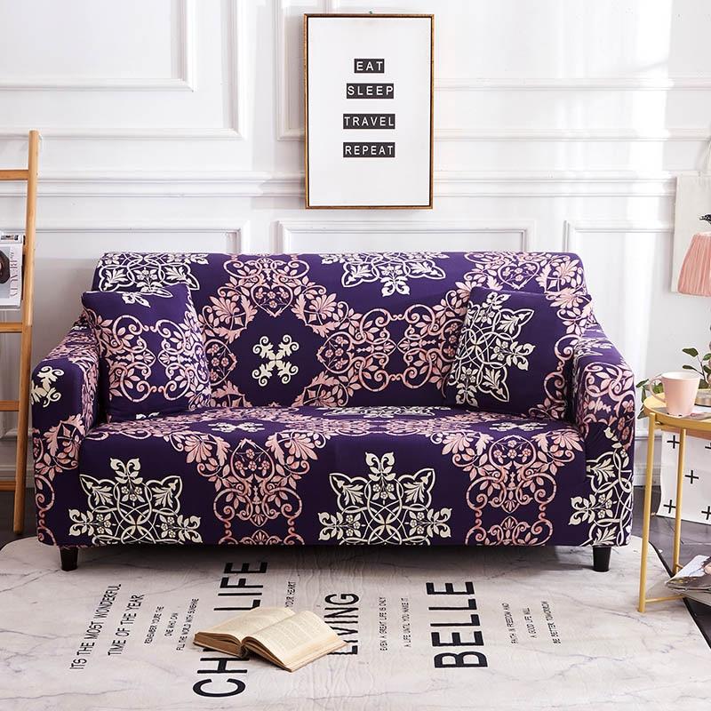 L Shaped Sofa Cover Spandex Slipcover Sofa Set Covers