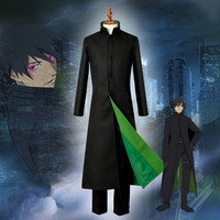 New Darker Than Black Hei Cosplay Uniform Outfit Jacket+Pants+T shirt Halloween Adult Costumes for Women/Men Carnaval Disfraces