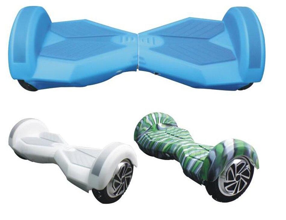Prix pour Nouveau Haute Qualité 8 Pouce Électrique Équilibre Scooter Manches De Protection Anti Scratch Housse En Silicone Planche À Roulettes Manches Hoverboard