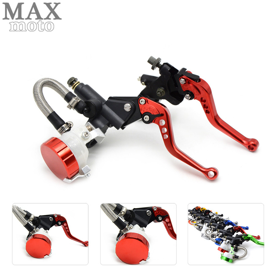 free shipping motorcycle CNC Aluminum Adjustable brake clutch lever& brake pump For BMW F800GT 2013 2014 2015 2016 free shipping motorcycle moped scooter cnc brake lever front