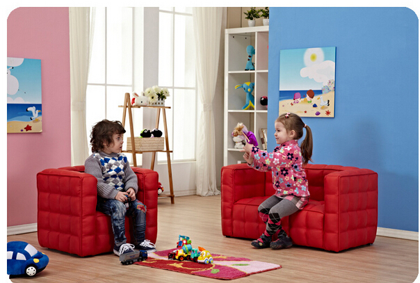 Children's Sofa. Small Sofa. Single. Double. Plaid Sofas