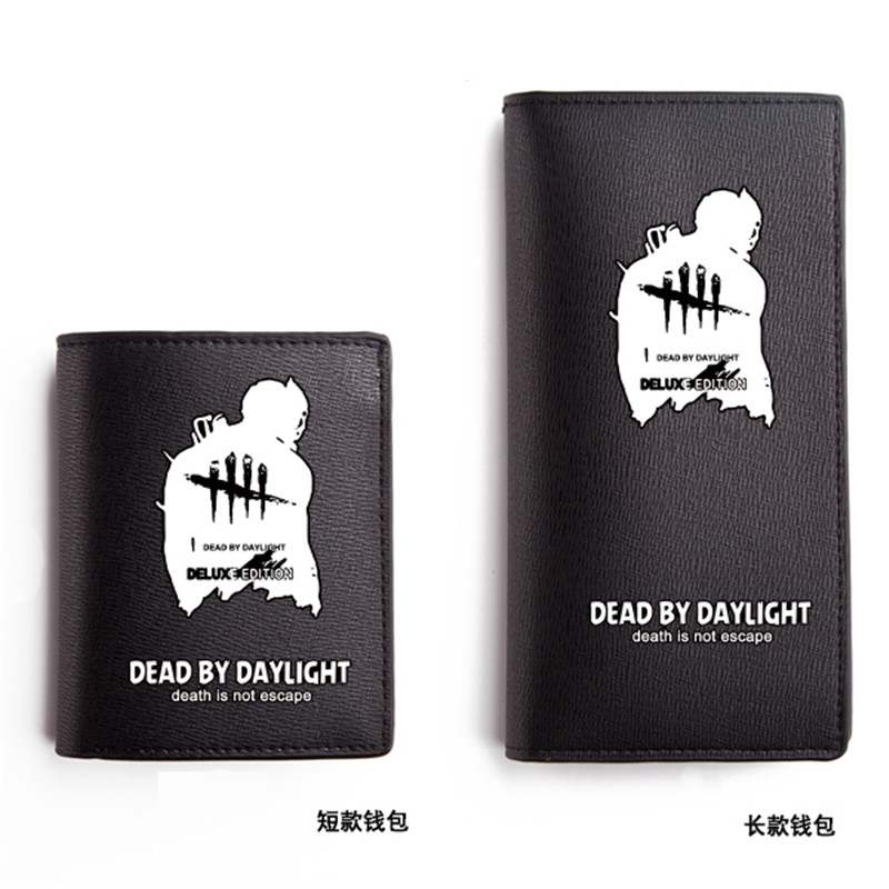 High Quality Game Steam PC Dead by Daylight Luminous Printing Men Long Wallet Fashion Carteira Masculina Pu Leather Men Purse