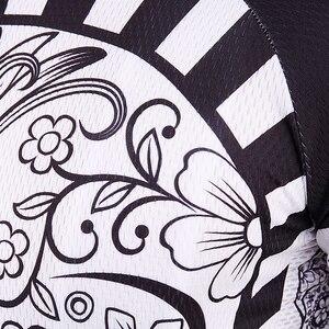 Image 5 - 2019 jesień Pro koszulka kolarska z długim rękawem czaszka Retro mężczyźni koszulka z długim rękawem koszulka nosić zespół Ropa De Ciclismo długi rower Jersery