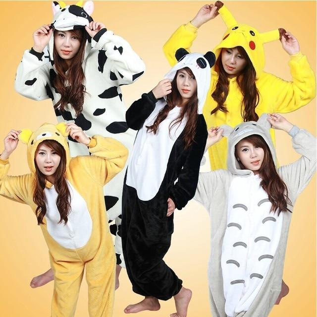 0496474520d2 Flannel family animal pajamas one piece onsies onesies cosplay costume  pijama pigiama pyjama pijamas enteros de animales 2018