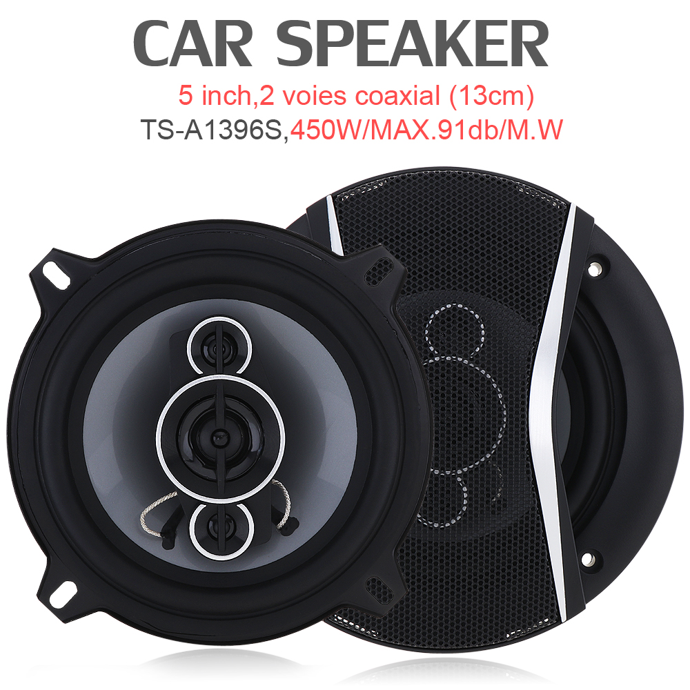 5 Inch 450W Car HiFi Coaxial <font><b>Speaker</b></font> Vehicle Door Auto Audio Music Stereo Full Range Frequency Lound <font><b>Speaker</b></font> for Car Vehicle image