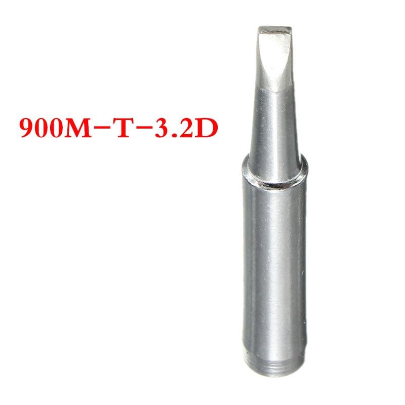 900M-T-3.2D Soldering Leader-Free Solder Replacement Iron Tip For Hakko 936 Flat