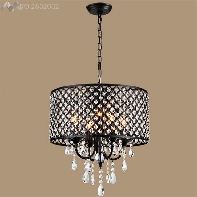 Led crystal ring chandelier pendant light lamp ceiling for Decoration 640