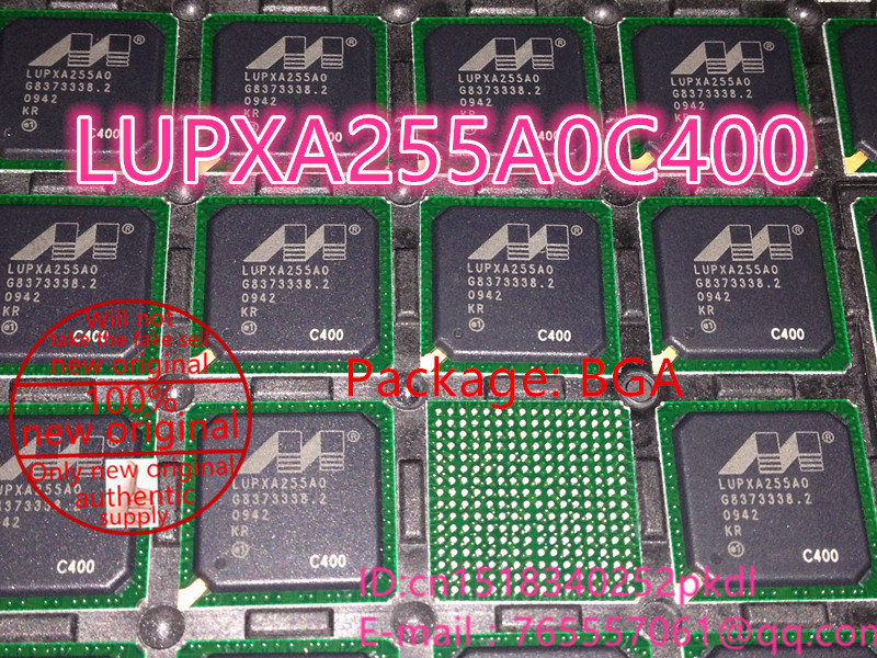 100% New original LUPXA255A0C400 PXA255 400MHz BGA IC chip microprocessor 100%new original b2415s 2w ic chip 10pcs