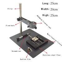 4 센치메터 뜨거운 공기 열 총 고정 브래킷 뜨거운 공기 총 수리 도구 테이블