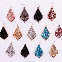 Горячая новинка дизайнерские вдохновленные серьги в виде каплевидных кристаллов KS дизайнерские массивные серьги для женщин подарок