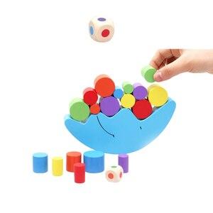 Image 5 - 1 مجموعة الطفل ألعاب أطفال القمر التوازن لعبة والألعاب لعبة ل 2 4 سنة فتاة و الصبي (الأزرق)