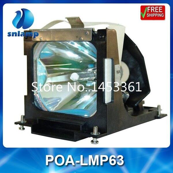 все цены на Replacement projector lamp bulb POA-LMP63/610-304-5214 for PLC-XU45 онлайн