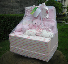 Newborn baby gift box 16 piece set gift box ultralarge gift four seasons gift paragraph