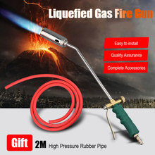 Liquefied  Welding Gas torch Fire Gun  welding gas torch Weed Burner Welding Accessories  for Brazing Tool Outdoor Picnic BBQ 2017 gas welding torch mapp mayitr welding plumbing self ignition turbo torch propane brazing soldering burner heating