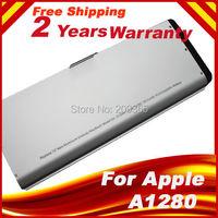 A1280 Aluminum Upgraded casing Laptop Battery for Apple MacBook 13 A1278 (2008 Version) MB466LL/A MB466 MB771LLA MB771