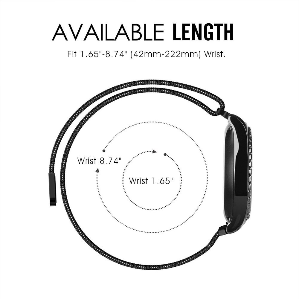 V-moro Newest Fashion Breathable Watch Bands For Samsung Gear S2 Classic Gear S2 Strap Milanese Loop Band For Gear S2 Classic