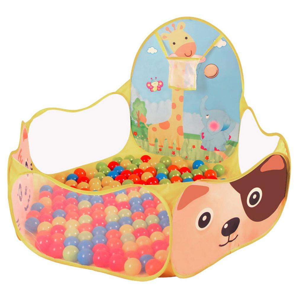 4 шт. детская палатка для помещений и улицы, детский игровой домик с океанским шариком, детский туннель из труб для ползания, игрушка, складная надувная палатка - Color: 07