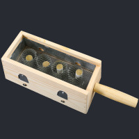 Article Duan Yi special tool four column moxa box wooden moxibustion appa