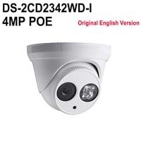 In Stock DS 2CD2342WD I English Version IR 4MP CCTV Camera EXIR WDR P2p Ip Camera