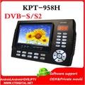 4.3 pulgadas LCD KPT-958H MPEG4 DVB-S2 satélites del buscador satfinder metros multifunción para PVR, reproductor de vídeo, cctv monitor de la cámara