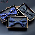 Dos homens de poliéster Gravata borboleta Marca Clássico Dot Tie Bowtie Lazer Negócios Camisas Bowknot Bow Tie Gravatas Acessórios sem caixa MNT004