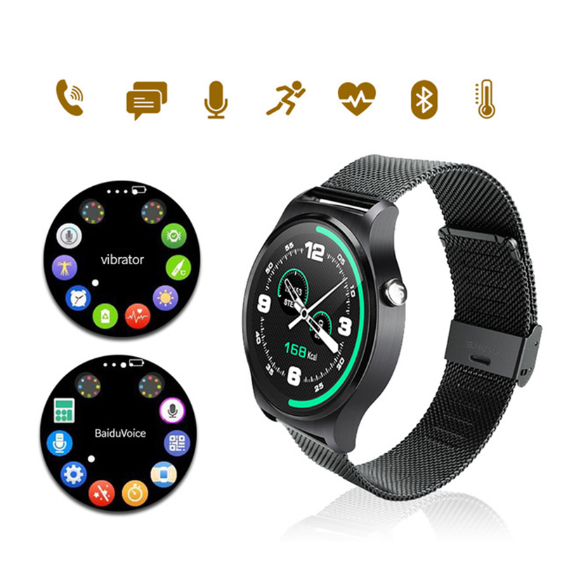 HEINO GW01 Bluetooth Inteligente Electronic Heart Rate Monitor Smart Watch For IOS Android Phones Support Multi Languages Reloj