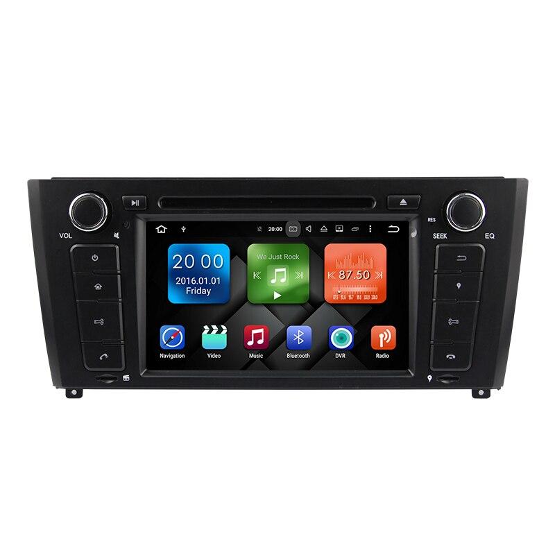 7 Android 8,0 4 ГБ Автомобильный мультимедийный Стерео GPS навигатор DVD для BMW E81 E82 E83 E87 E88 2004 2005 2006 2007 2008 2009 2011 2012