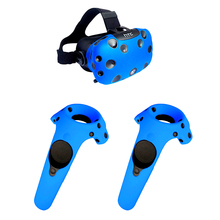100PCS White Protective Hygiene Eye pad Face Mask/Silicone hand Case Skin Shell for HTC Vive PlayStation Virtual Reality Glasses