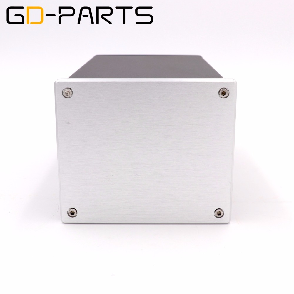 GD PARTS 1PC Full Aluminum Chassis Enclosure Case For Hifi Tube Amplifier Power Project DIY 134x114x209mm
