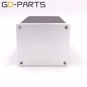 Image 1 - GD PARTS 1 PC boîtier de châssis en aluminium complet pour Hifi Tube amplificateur projet de puissance bricolage 134x114x209mm