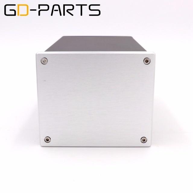 GD PARTS 1 PC boîtier de châssis en aluminium complet pour Hifi Tube amplificateur projet de puissance bricolage 134x114x209mm