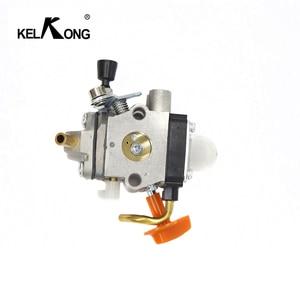 Image 2 - KELKONG Carburetor For Stihl FS87 FS90 FS100 Carb KM100 FS110 KM110 FS130 KM130 HT130 Trimmer Engine Replace ZAMA C1Q S173 S176