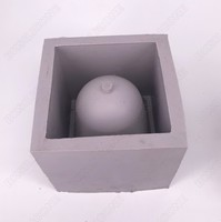 DIY Concrete Planter silica gel mold regular polygon Cement Clay Plaster Flower Pot Silicone Mould