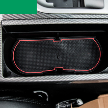 lsrtw2017 car interior cup mat for toyota camry 2012 2013 2014 2015 2016 2017 xv50