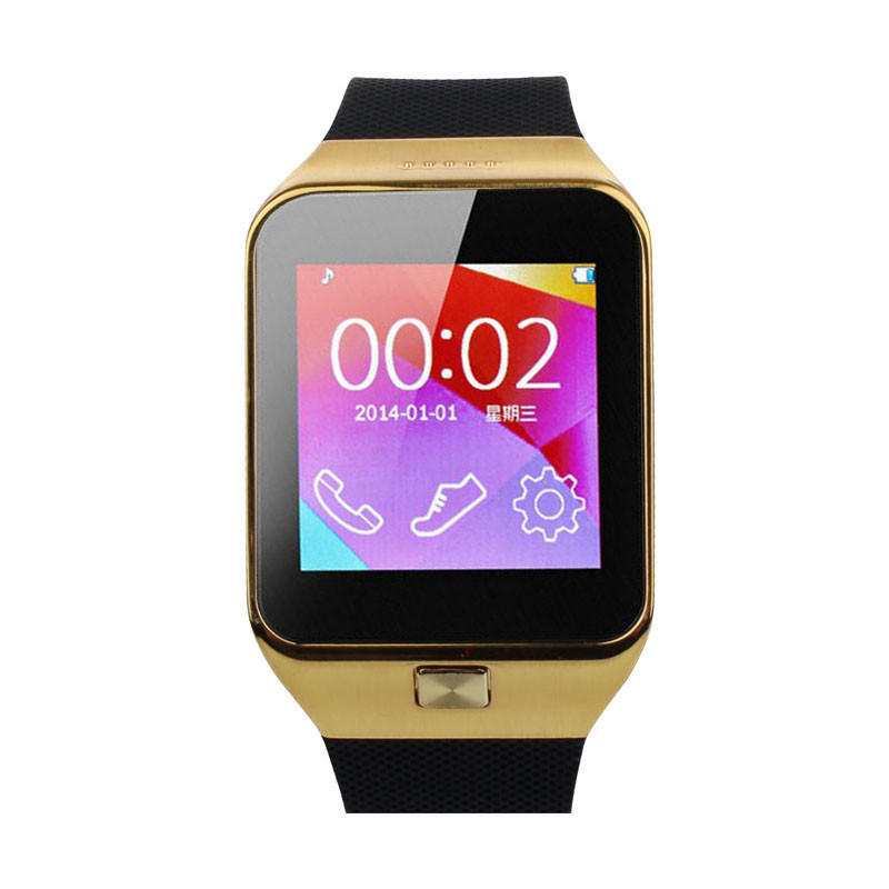 2016 New Smart Watch 1PC M6 With font b Camera b font Bluetooth Smart Wrist Watch