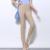 {Guoran} 2016 Alta Estiramento Mulheres Primavera Verão Doce Cor Legging de Cintura Alta Plus Size Sexy Ladies Skinny Lápis calças Femininas