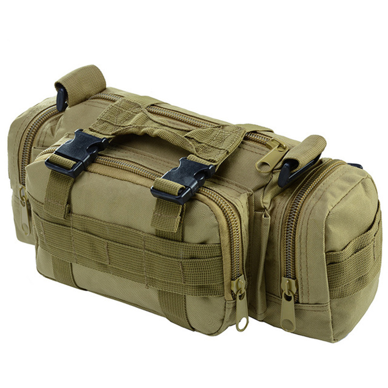 10L Outdoor Climbing Bag Waterproof Waist Bag Oxford Tactical Military Bags Camping Camouflage Pouch Bags Mochila Militar Bolsa