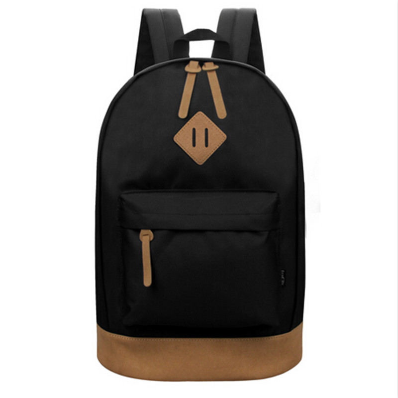 EcoCity Classic Backpack For Men Fashion Brand Travel Sports Laptop Back Pack Women Girls Students Daypack Female Rucksack bags
